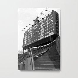 Wrigley Field Metal Print