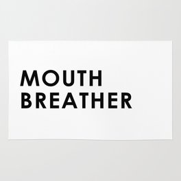 Mouth Breather Rug