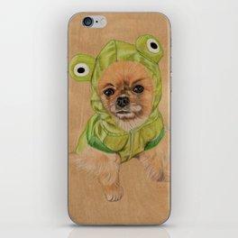 Littlle Greenie iPhone Skin