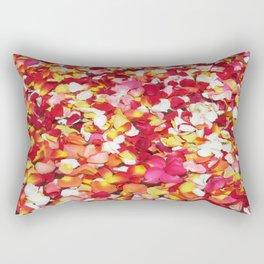 Moroccan Rose Petals Rectangular Pillow