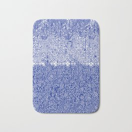 sarasa paisley all over in blues Bath Mat