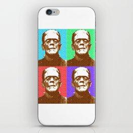 Scrabble Frankenstein's Monster x 4 iPhone Skin