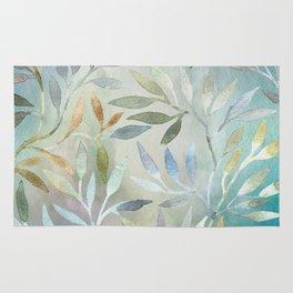 Painted Leaves Rug