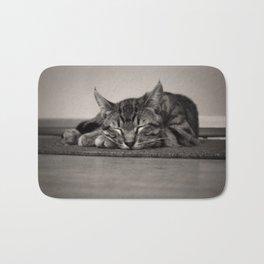 Sleepy Kitty Bath Mat