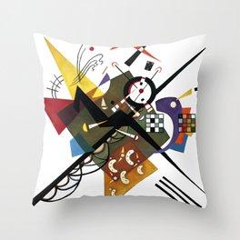 Kandinsky Sur Blanc, 1923 Throw Pillow