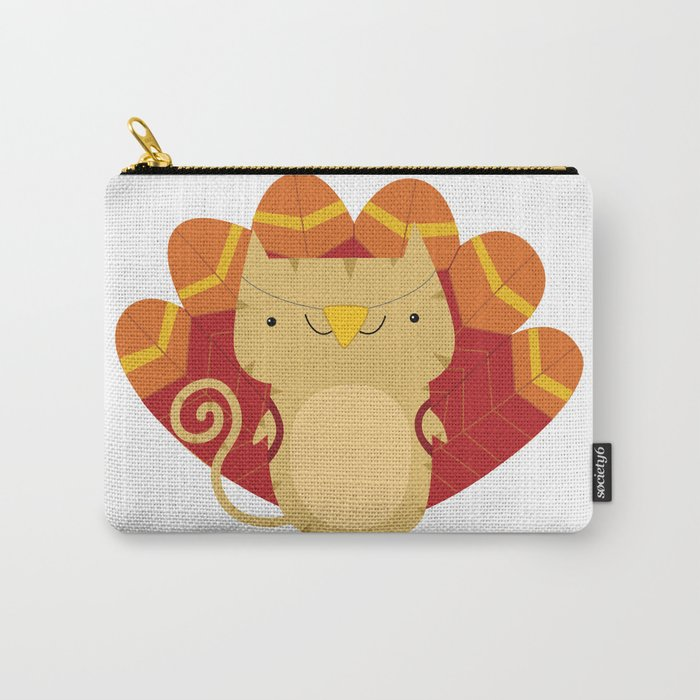 Gobble Gobble Spanky - November Carry-All Pouch