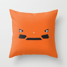 Minimal Aventador Throw Pillow