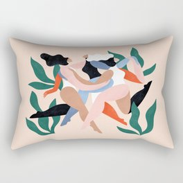 Take time to dance Rectangular Pillow