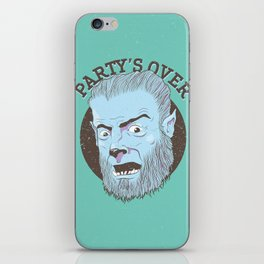 The Wolfman Kindly Requests (v2) iPhone Skin