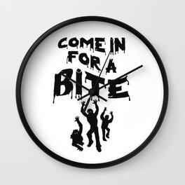 Zombie Halloween Wall Clock