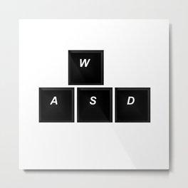 wasd Metal Print