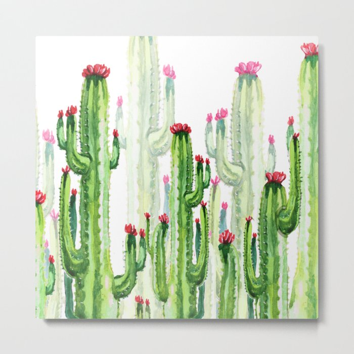 cactus four new Metal Print
