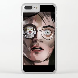 hedwige, what the ... ? Clear iPhone Case