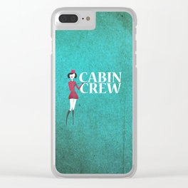 Cabin Crew Clear iPhone Case
