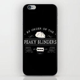 Peaky blinders iPhone Skin