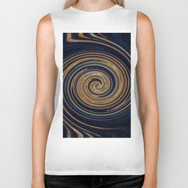 Untitled Abstract #3 Biker Tank