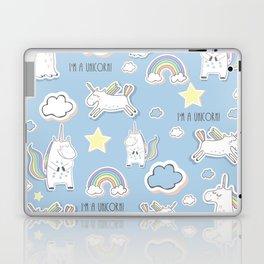 I'm a Unicorn - blue Laptop & iPad Skin