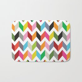 Ziggy chevron Bath Mat