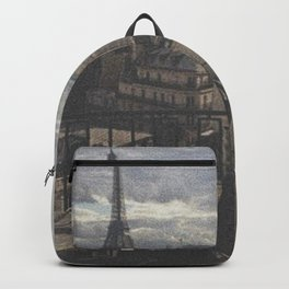 Un Balcon à Paris Backpack