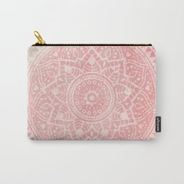 Pink Mandala Carry-All Pouch