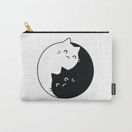 Yin Yang Cats Carry-All Pouch