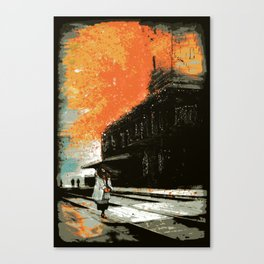 The Super-Human Condition Canvas Print