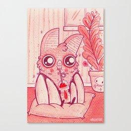 Blood Slushie Canvas Print
