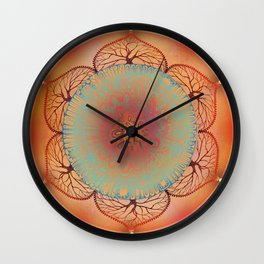 Sacral Chakra Wall Clock