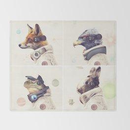 Star Team - Legends of Lylat Throw Blanket