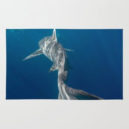 Peaceful Lemon Shark Rug