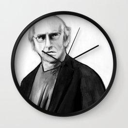 DARK COMEDIANS: Larry David Wall Clock