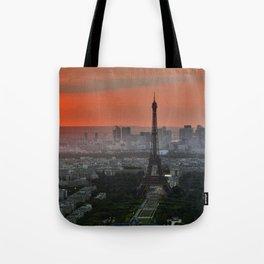 Paris Eiffel Tower Tote Bag