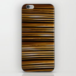 SCOTCH whiskey wood slats with shadows iPhone Skin