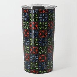 Arrows Pattern Color Travel Mug