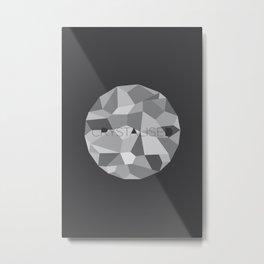 Crystalised Metal Print