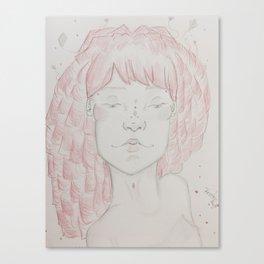 An Angled Portrait Canvas Print
