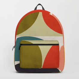 shapes of mid century geometry art Backpack