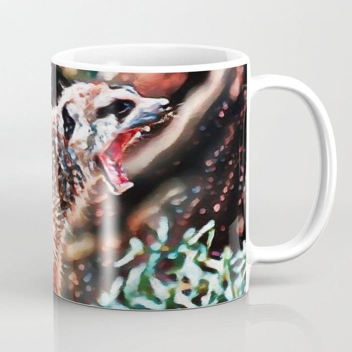 Meerkat Rage | Painting Coffee Mug