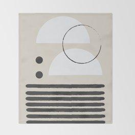 Abstract Modern Art Throw Blanket