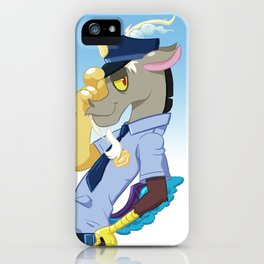 Police Discord iPhone Case