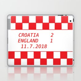 Croatia vs. England Laptop & iPad Skin