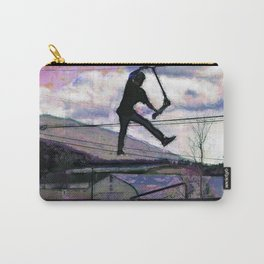Deck Grab Champion - Stunt Scooter Art Carry-All Pouch