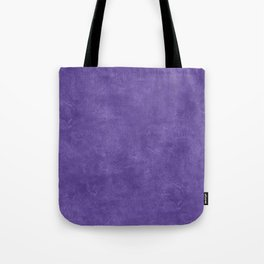 Ultra Violet Oil Pastel Color Accent Tote Bag