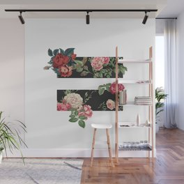 floral equality symbol Wall Mural