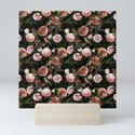 Vintage & Shabby Chic - Blush Camellia & Kingfishers by vintage_love