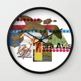 Rara Avis Wall Clock