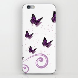 Blooming Butterflies iPhone Skin