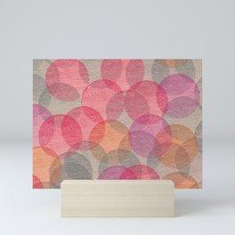 Cosy Circles 2 Mini Art Print
