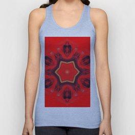 chakra art heart healing red Unisex Tank Top