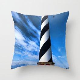 Cape Hatteras Light Throw Pillow